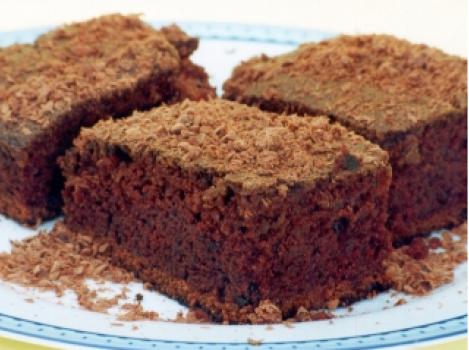 Bolo de Chocolate Meio Amargo