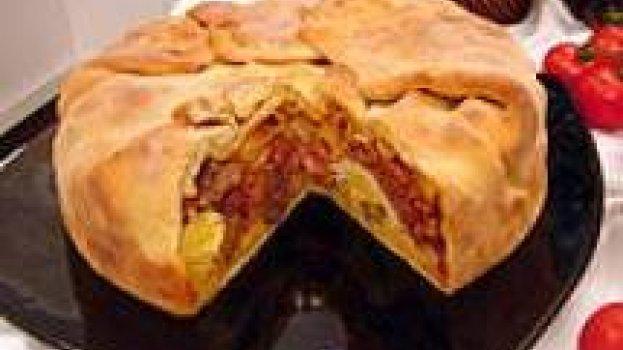 Torta de macarrão da Calábria