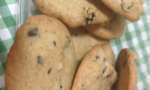Cookie Americano com Chocolate e Uva Passa