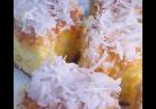 Bolo gelado de coco da lusy