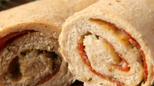 Pão de Aveia com Pepperoni