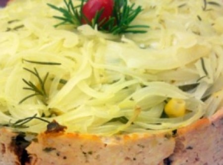 Torta de frango diferente | Camila Grillo