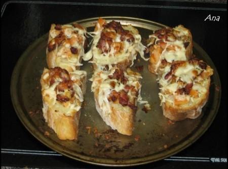 Bruchetta de bacon