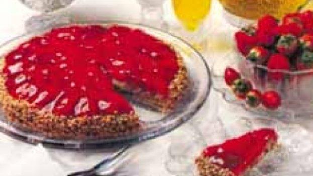 Torta de morango da Bia