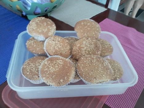 Cupcake de Amendoim   MARINA BAUM PEDROSO