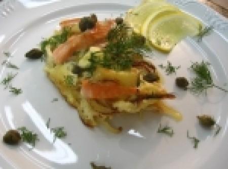 Torta de salmão   marigene