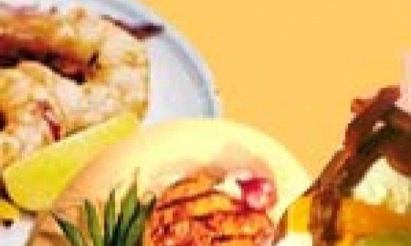 Salada de Camarão Marinado com Erva Doce