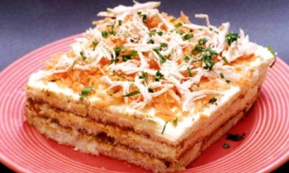 Sanduíche Gelado de Pão de Forma