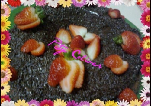 bolo preguiça de chocolate de microondas