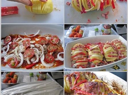 Leque de batata