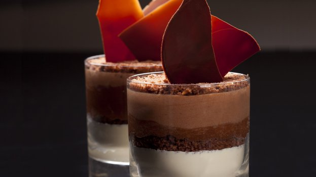 Mousse de Três Chocolates