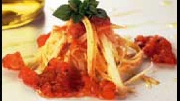 Espaguete de Pupunha com Tomate e Ervas