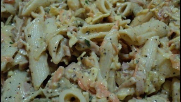 Salada de Macarrão Aromática