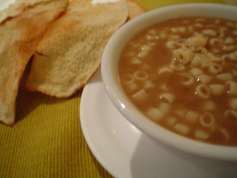 Sopa de Feijão com Macarrão | Contato Comunicação