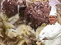 Sopa de Repolho e Carne