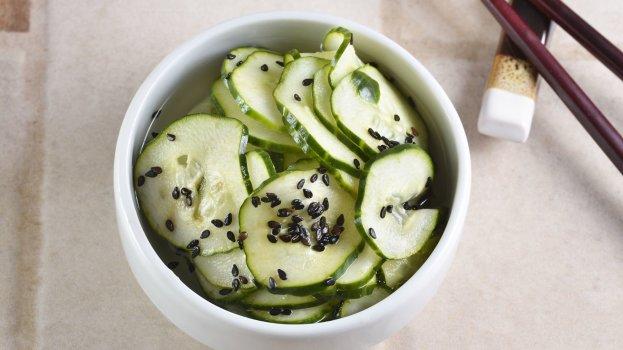 Sunomono Salada de pepino agridoce/cybercook
