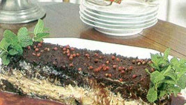 Terrine de Chocolate de Três Cores
