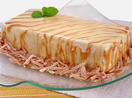 gelado de amendoas