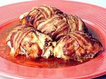 Rolinhos de Frango com Bacon e Queijo