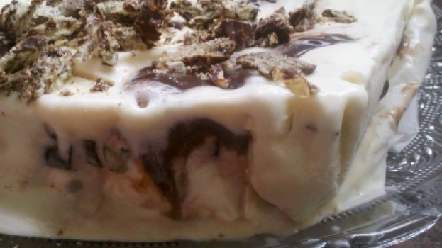 Torta de Brigadeiro, Sorvete e Bis