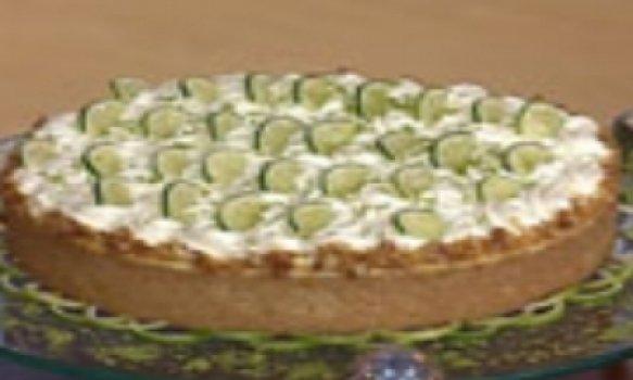 torta de limao com marsmallow