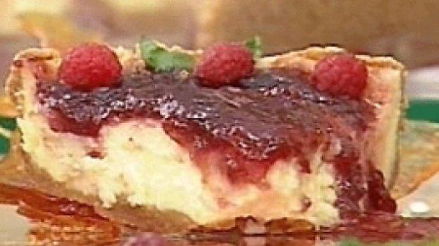 Cheesecake de Framboesa no Microondas