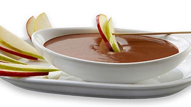 Fondue de Chocolate com Cream Cheese