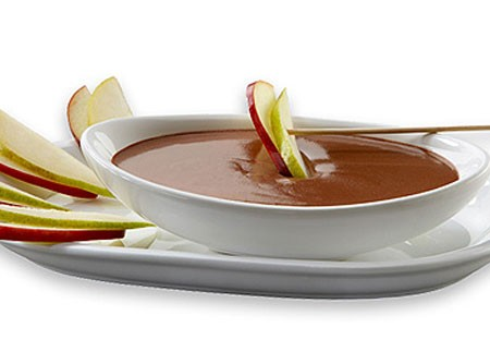 Fondue de Chocolate com Cream Cheese