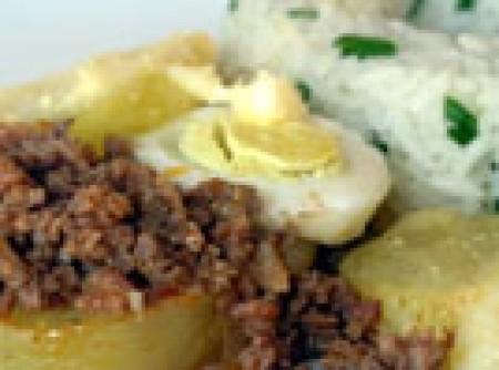 Carne Moída ao Forno | Clarissa Marques da Silva