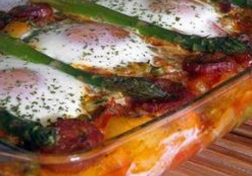 Receita de Ovos no forno à espanhola