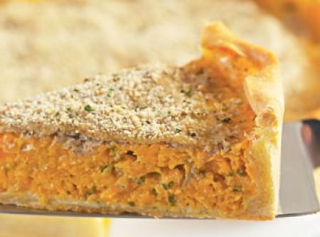 Torta de abóbora com crosta