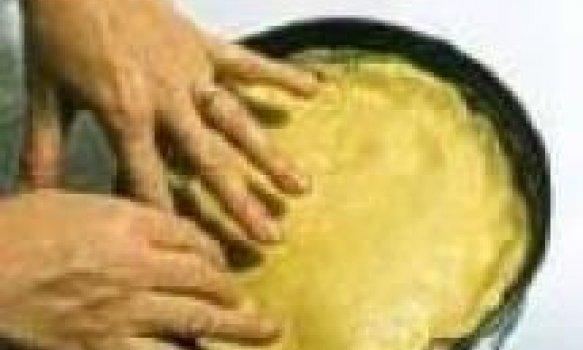 Torta de Palmito e Camarão de Padaria