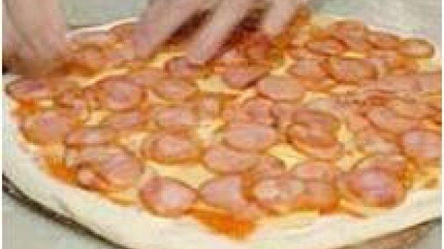 Pizza de calabreza da minha nona