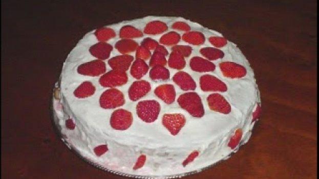 Torta Tentação de Morango