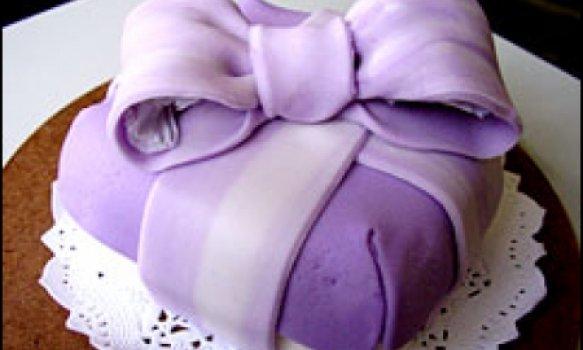 Cobertura para bolo massa elástica