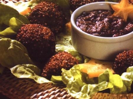 Bolinhos de Quinua e Soja | Revista dos Vegetarianos