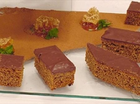 Bolo de Mel com Cobertura de Chocolate   Haroldo Braune Collet