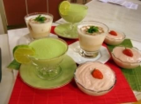 Iogurte com hortelã