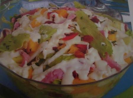 Salpicão com Iogurte