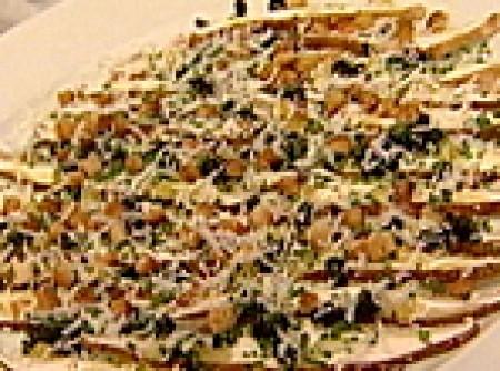 Carpaccio de Shitake e Limão Siciliano no Sal