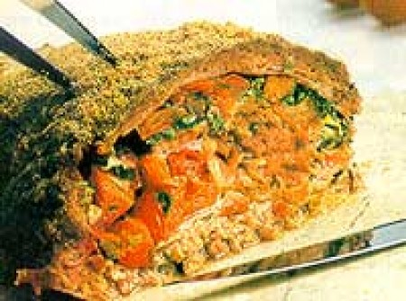 Bolo de Carne no Microondas