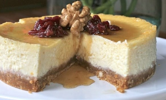 Cheesecake de Maple