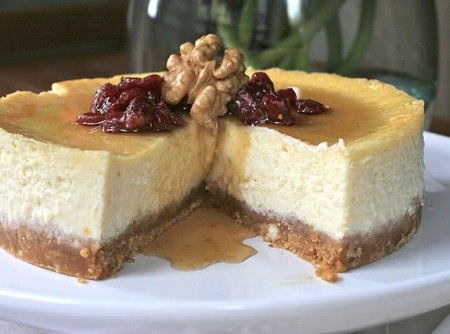 Cheesecake de Maple