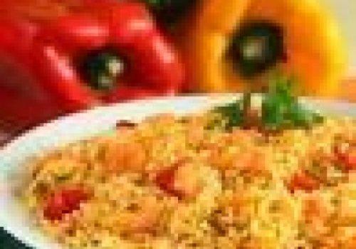 Risoto de camarão com arroz polido (normal)