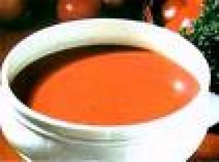 Sopa de Tomate com ricota