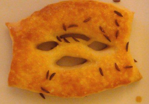 Basler Sunnerreedli (biscoitos de Kûmmel de Basel)