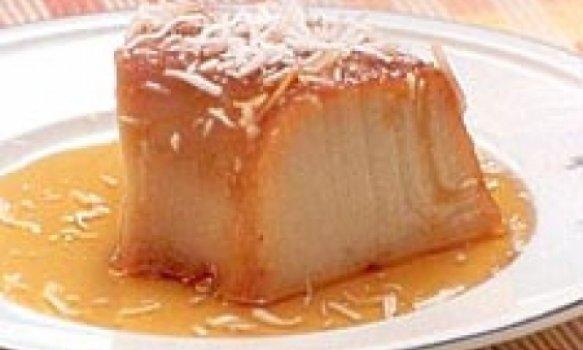 Pudim de Batata-doce com Coco