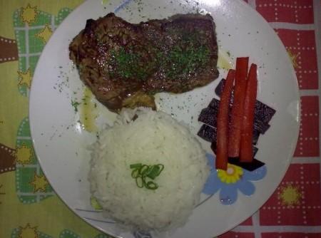 Steak de Picanha ou Contrafilé (200g)