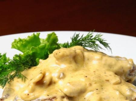 Filet Mignon em tiras com Queijo Gorgonzola no Microondas | Robson A. Santos