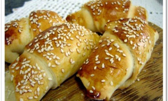 Pão Doce recheado com Ricota